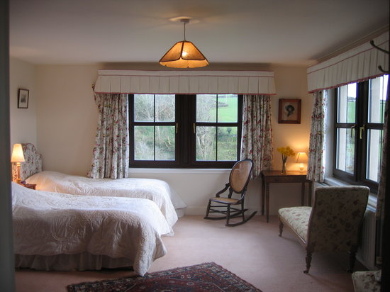 Heughmill Bed and Breakfast : One of the Bedrooms