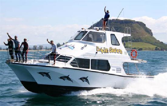 Dolphin Seafaris: Our vessel Guardian