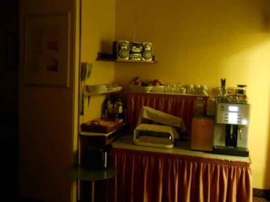 Goldene Spinne: sala colazione