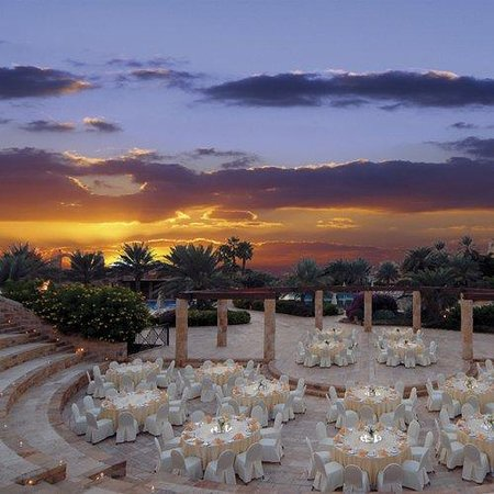 Movenpick Resort & Spa Dead Sea: Banquet Set-up at Sunset Arena