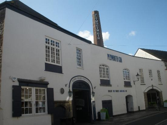 Plymouth Gin Distillery : Front Elevation