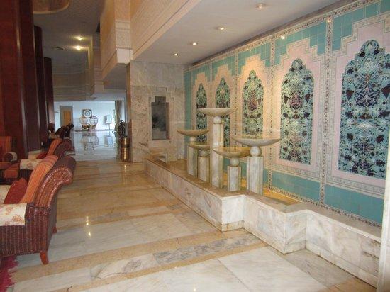 Marhaba Palace Hotel : reception