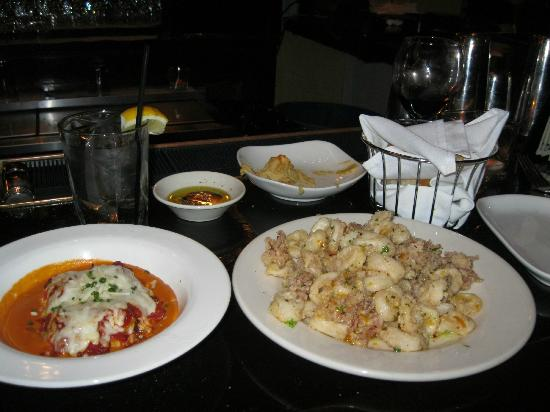 Circa 1922: Fabulous rollatini and calamari only $5 at the bar between 5-7 pm