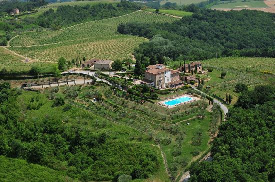 Castello di Fulignano : Panorama