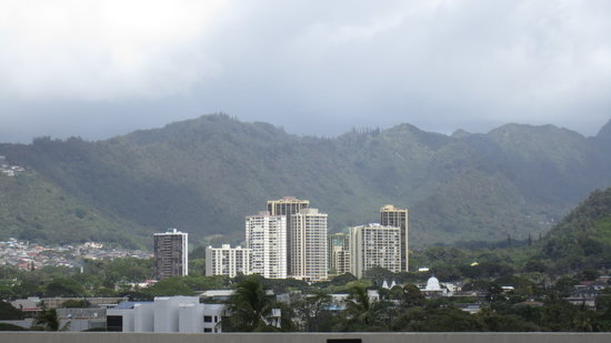 Hawaii State Capitol: View form the top