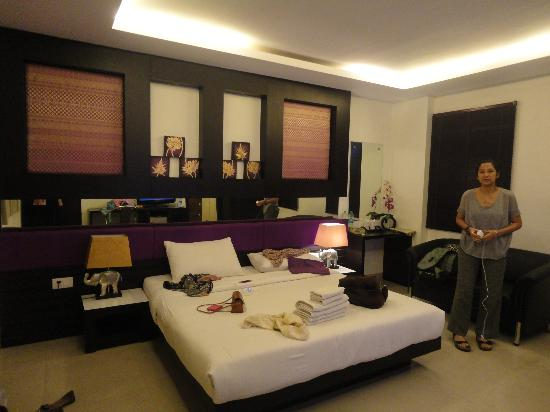 Nandkartar Suites: Room on 3rd floor, in the corner