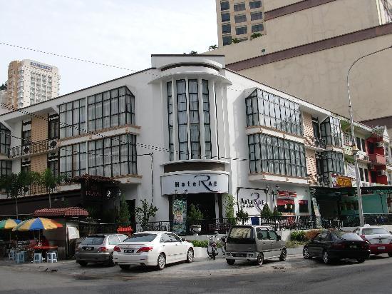 Hotel Rae: Main entrance