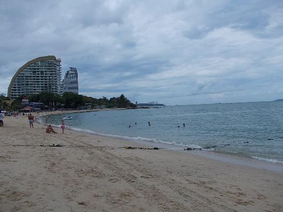 Wong Amat Beach: ビーチの様子2