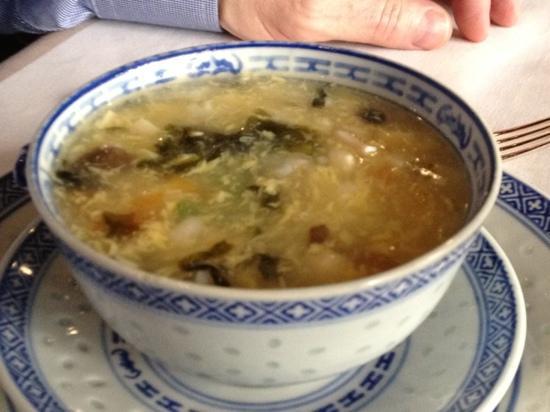 Passy Mandarin : Soupe Maison