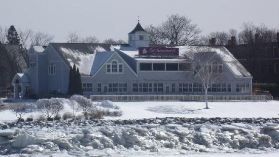 Schooners Seafood and Steakhouse : View from the Penobscot