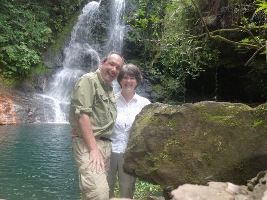 Cockscomb Basin Wildlife Preserve: 1st Waterfall