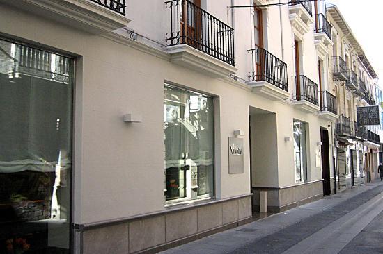Hotel Parraga Siete: Entrada al hotel