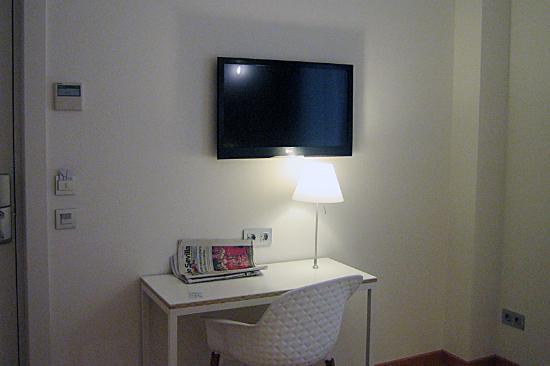 Hotel Parraga Siete: Detalle de la habitación
