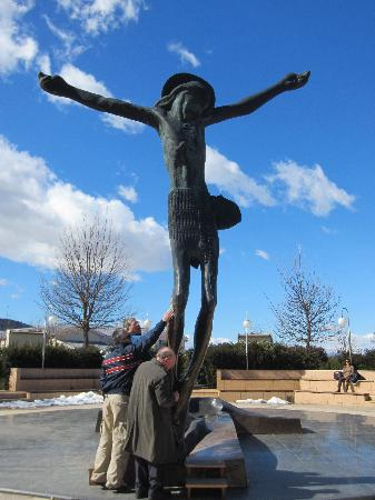 Medjugorje Tours & Travel Day Tour: The Sculpture of Christ