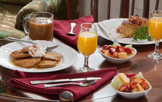 St. Francis Inn Bed and Breakfast: Gourmet Breakfast