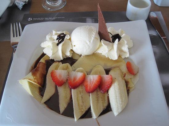 Crepes & Waffles : Chocolate Fondue