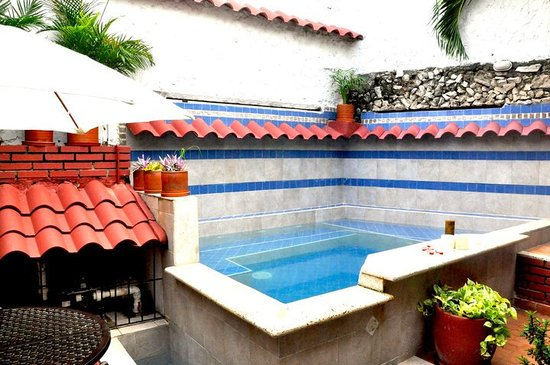 Casa Marta Cartagena: Plunge pool
