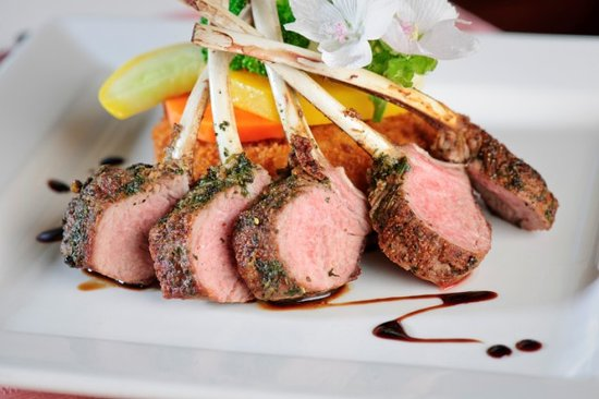 Dundee Arms Inn Restaurant and Pub: Rack of Lamb