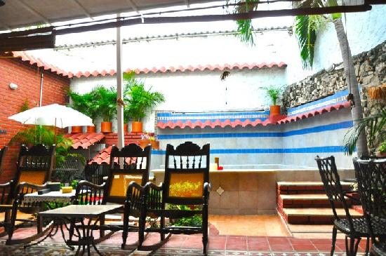 Casa Marta Cartagena: Patio