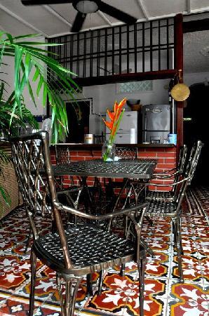 Casa Marta Cartagena: Dining area