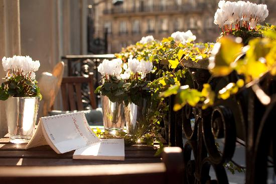 Hotel Sainte Beuve: une terrasse de l'hotel