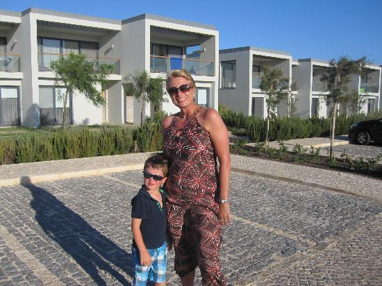 Martinhal Sagres Beach Resort & Hotel: In front of the fabulous bay houses