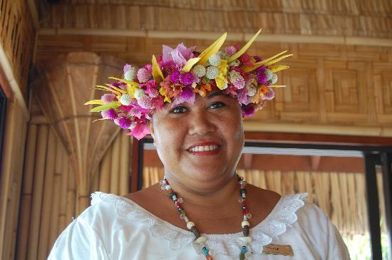 InterContinental Bora Bora Le Moana Resort: La gentillesse incarnée : Vahiné !!!