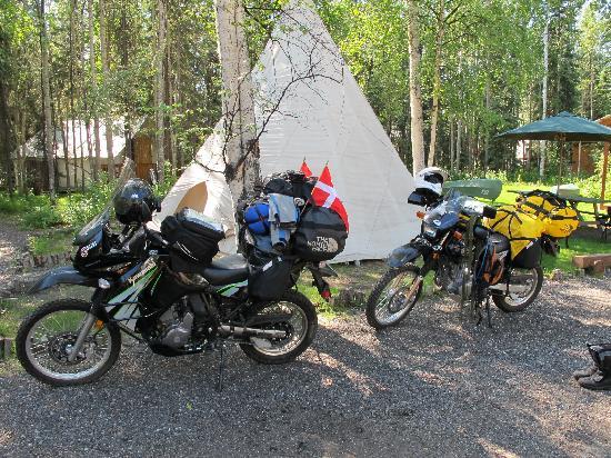 GoNorth Alaska Hostel: Teepee