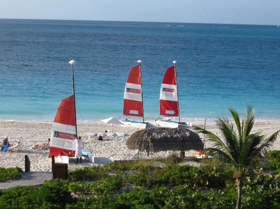 Grace Bay Club: View From Room Toward Beach