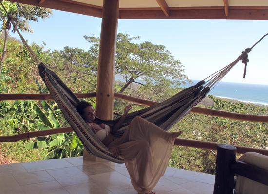 Villa Cacique: In the hammock