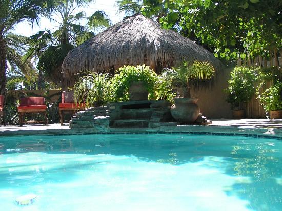 Las Cabanas de Loreto: Poolside