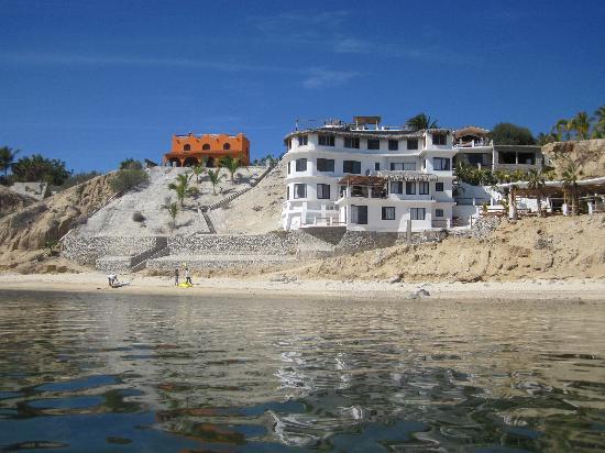 Kite Paradise Hotel & Resort: Resort from the Water