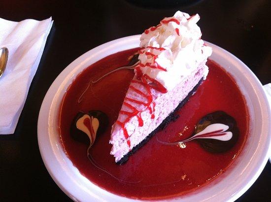 Oliva's Kitchen: raspberry cheesecake