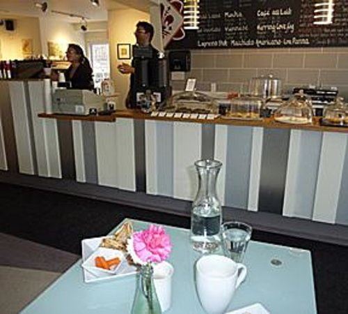 Pavia Gallery ~ Espresso Bar & Café : Delicious Panini beautifully served!