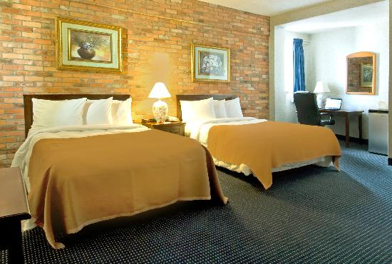 Howard Johnson Hotel Toronto Yorkville: Deluxe 2 Double Beds