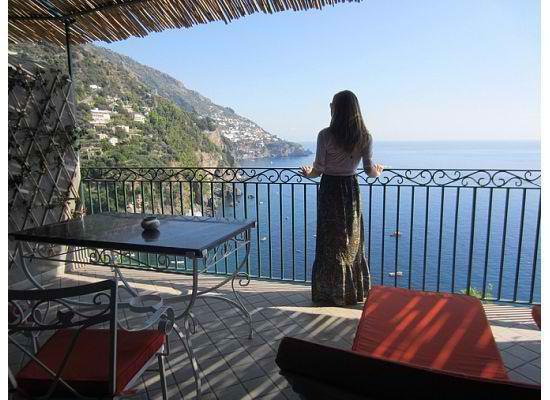 Il San Pietro di Positano: the view from our balcony