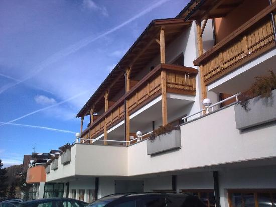Hotel Terentnerhof : vista ovest