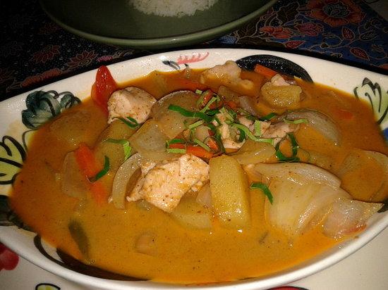 Gecko Cabane Restaurant: Masaman Curry