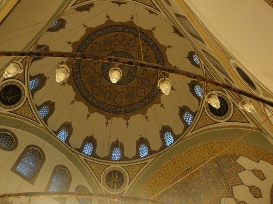 Konya, Turkey: Dome of Selimiye Mosque