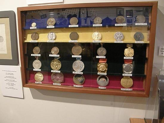 Lake Placid Olympic Museum: Medals