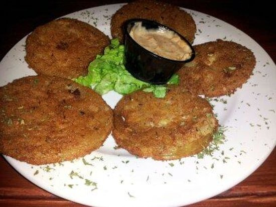 Swamp House Riverfront Grill: Fried Green Tomatoes