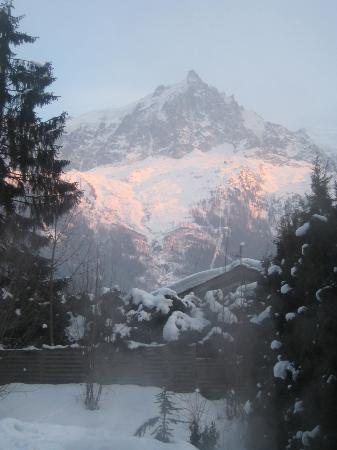 Chalet Chocolat : Perfect view from the hot tub!