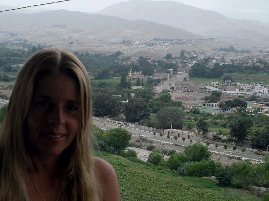 DM Hoteles Moquegua : vista de la habitacion