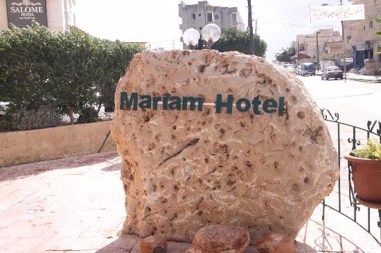 Mariam Hotel: Hotel Sign