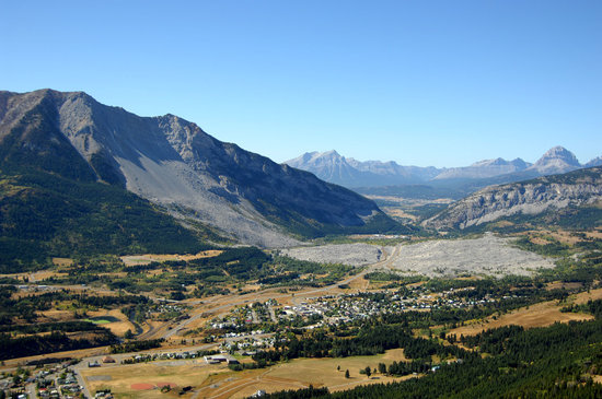 Blairmore, Kanada: The Frank Slide - North America's Deadliest Rockslide