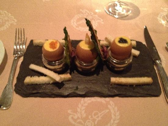 Hotel d'Angleterre: A fine example of the delicious cuisine