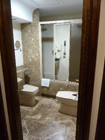 Hotel Liabeny: bathroom in single room