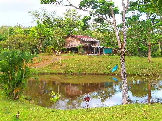 Posada Cielo Roto: Main house & dining area