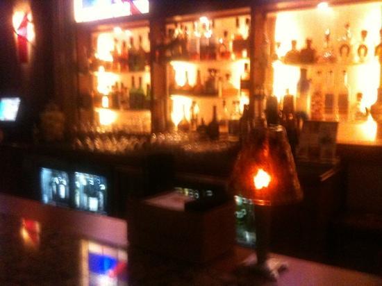 Eddie Merlot's Louisville : view from bar