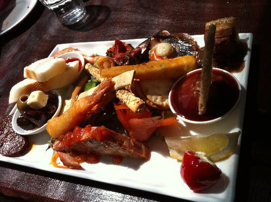 Woody Nook Wines: Tasting platter